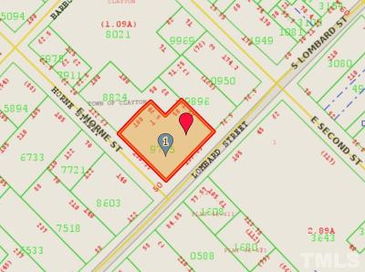 Johnston County Commercial Lots & Land For Sale: S Lombard Street