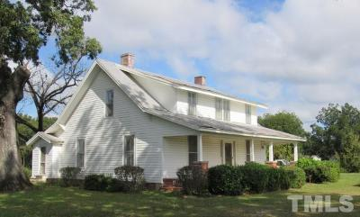 Harnett County Single Family Home For Sale: 67 Jernigan Road