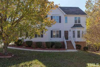 Raleigh Single Family Home Contingent: 7901 Old Mill Ridge Court