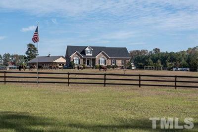 Zebulon Single Family Home For Sale: 1760 Pilot Riley Road