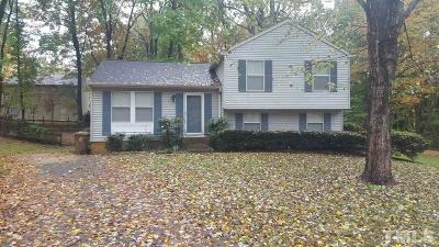 Cary Single Family Home Contingent: 111 N Atley Lane
