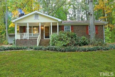 Apex Single Family Home Contingent: 2712 Brantley Drive