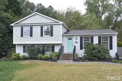 Cary Single Family Home Contingent: 408 Electra Drive