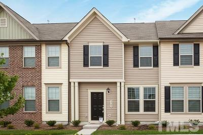 Wake Forest Townhouse Pending: 4206 Tain Burgh Court #LOT 00.0