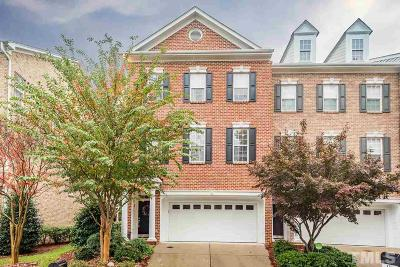 Cary Park Townhouse For Sale: 329 Bridgegate Drive