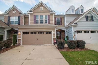 Raleigh Townhouse For Sale: 8308 Yaxley Hall Drive