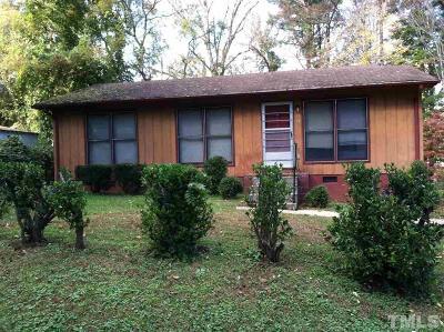 Single Family Home For Sale: 1112 Washington Street
