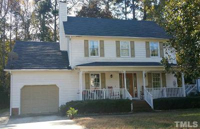 Knightdale Single Family Home Contingent: 5204 Cottage Bluff Lane