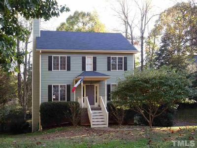 Wake Forest Single Family Home Contingent: 642 E Dunpatrick Place