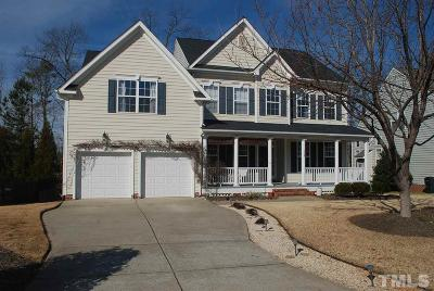 Holly Springs Single Family Home For Sale: 113 Muses Mill Court