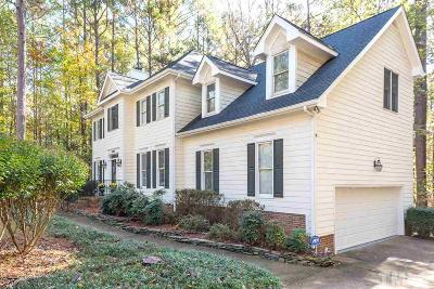 Wake County Single Family Home Contingent: 5809 N Hawthorne Way