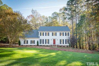 Wake County Single Family Home For Sale: 10832 Cahill Road