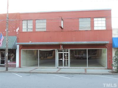 Granville County Commercial For Sale: 135 Hillsboro Street