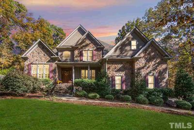 Wake Forest Single Family Home For Sale: 1600 Rutherford Hill Court