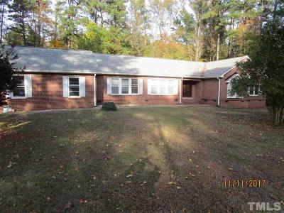 Raleigh Single Family Home For Sale: 3148 Mt Vernon Church Road