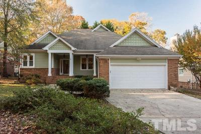 Raleigh Single Family Home Contingent: 5117 Harbour Towne Drive