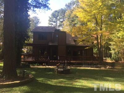 Raleigh Single Family Home Contingent: 11508 Hickory Grove Church Road