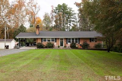Sanford NC Single Family Home Contingent: $121,500