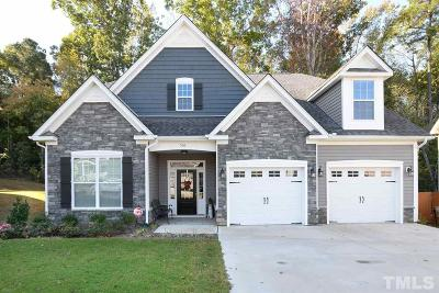 Clayton Single Family Home For Sale: 516 Mulberry Banks Drive