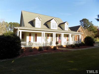 Harnett County Single Family Home For Sale: 837 Anderson Creek School Road
