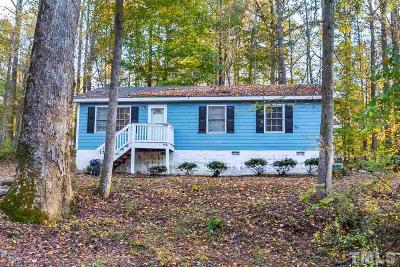 Youngsville Single Family Home Contingent: 1039 Holden Road