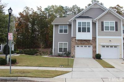 Morrisville Townhouse For Sale: 401 Suffolk Green Lane