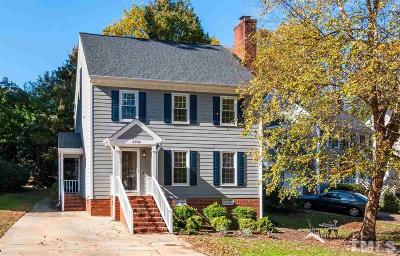 Raleigh Single Family Home For Sale: 6709 Eastbrook Drive