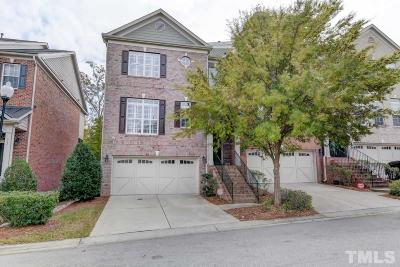 Cary Townhouse For Sale: 3027 Weston Green Loop