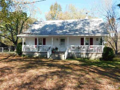 Wake County Single Family Home For Sale: 4216 Millrich Lane