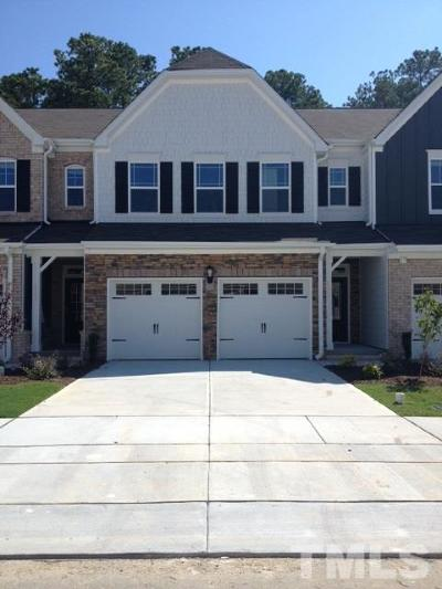 Morrisville Townhouse For Sale: 4341 Pond Pine Trail