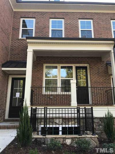 Raleigh Townhouse Pending: 916 Wake Towne Drive #2