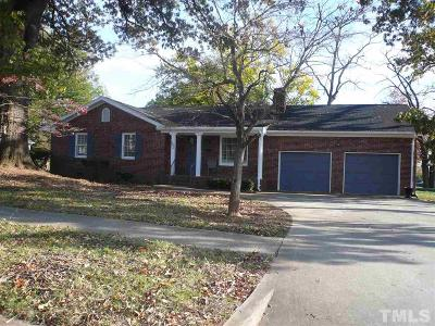 Chatham County Single Family Home For Sale: 302 E Second Street