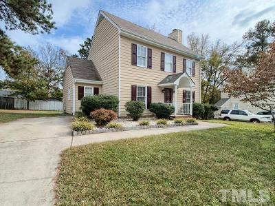 Raleigh Single Family Home Contingent: 1701 Vintage Road