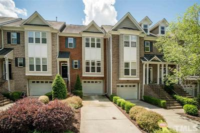 Chapel Hill Townhouse For Sale: 108 Primrose Lane