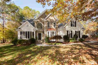 Wake Forest Single Family Home For Sale: 1208 Mauldin Circle