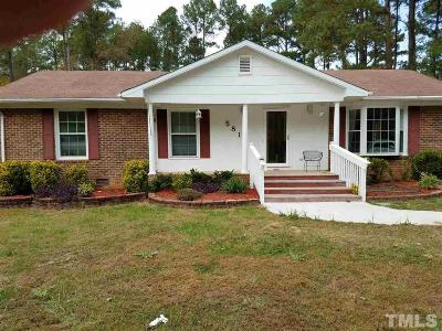 Durham Single Family Home For Sale: 5812 Newhall Road