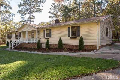 Wake County Single Family Home For Sale: 10105 Creedmoor Road