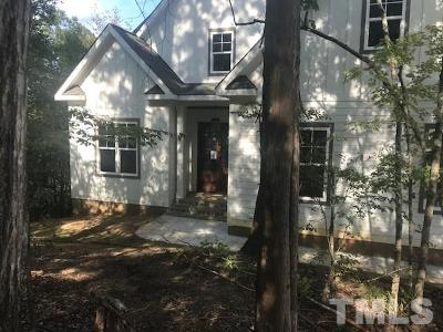 Raleigh Single Family Home For Sale: 5532 Ebenezer Church Road