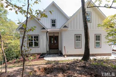 Wake County Single Family Home For Sale: 5000 Fanyon Way