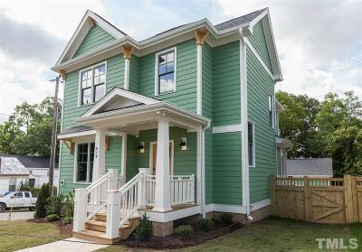 Durham Single Family Home For Sale: 610 Dowd Street