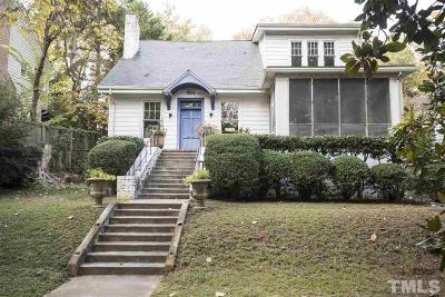 Raleigh Single Family Home For Sale: 311 W Park Drive
