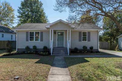 Raleigh Single Family Home For Sale: 135 Maywood Avenue