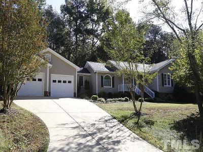 Holly Springs Single Family Home Contingent: 6121 Powell Ridge Drive
