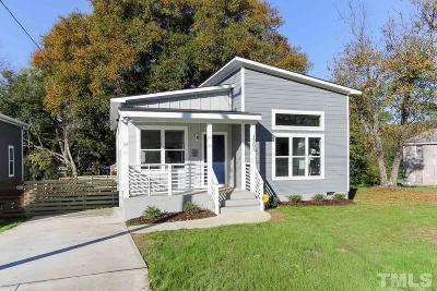 Raleigh Single Family Home For Sale: 1306 S East Street