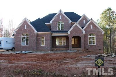 Wake County Single Family Home For Sale: 1540 Rock Dove Way