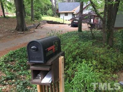 Sanford NC Single Family Home For Sale: $109,000