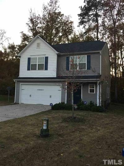 Raleigh NC Single Family Home For Sale: $207,000