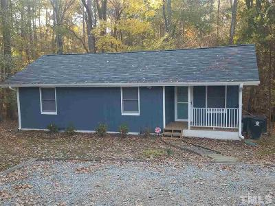 Durham Single Family Home For Sale: 3405 Pickett Road