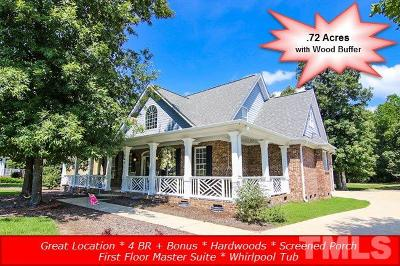 Clayton Single Family Home For Sale: 460 Crestdale Drive