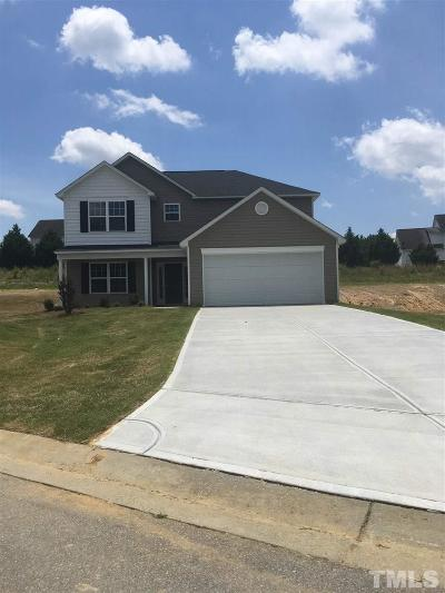 Johnston County Single Family Home For Sale: 51 Ridgemoore Court